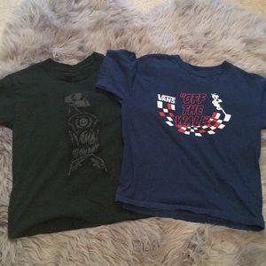 ‼️Bundle‼️ Vans Wm Sz Medium Crop T-shirts